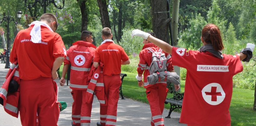 140 de ani de activitate la Crucea Roşie